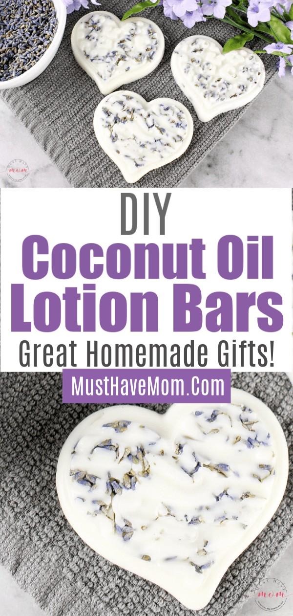 coconut oil lotion bars diy