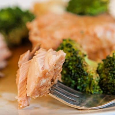 Asian Salmon in Foil Packs Recipe