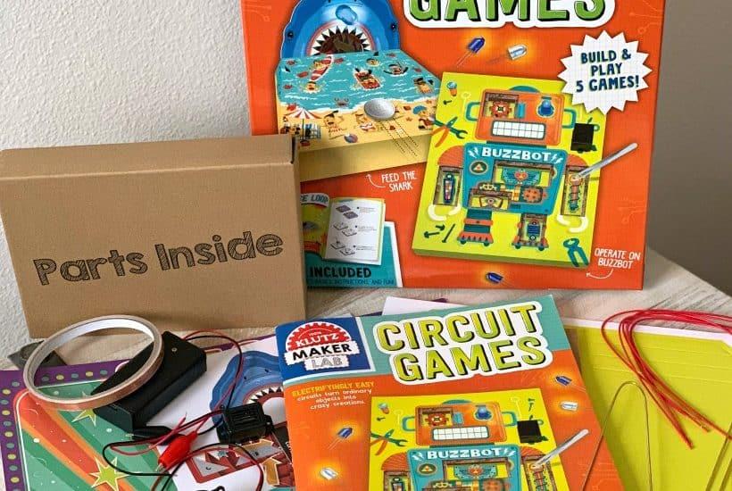 Klutz Maker Lab Circuit Games contents