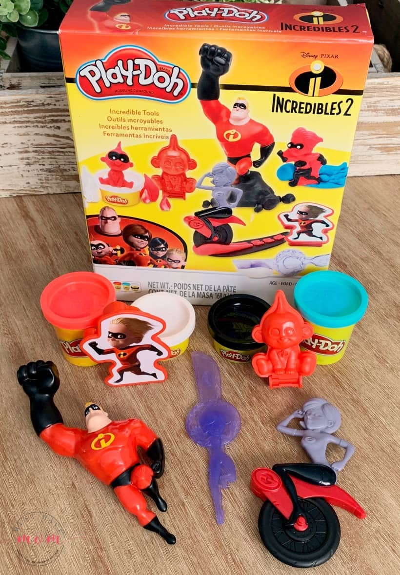Incredibles 2 play dough ideas