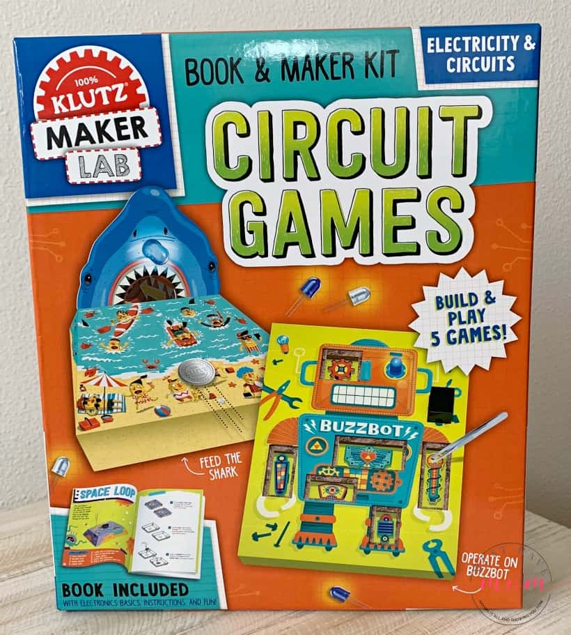 Klutz Maker Lab Circuit Games