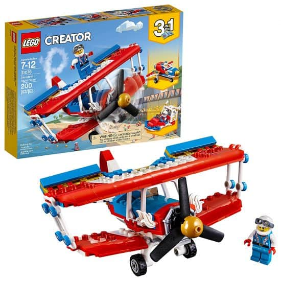 lego stunt plane