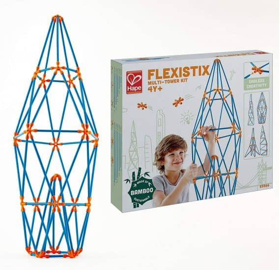 Hape Flexistix STEM Building Multi-Tower Kit