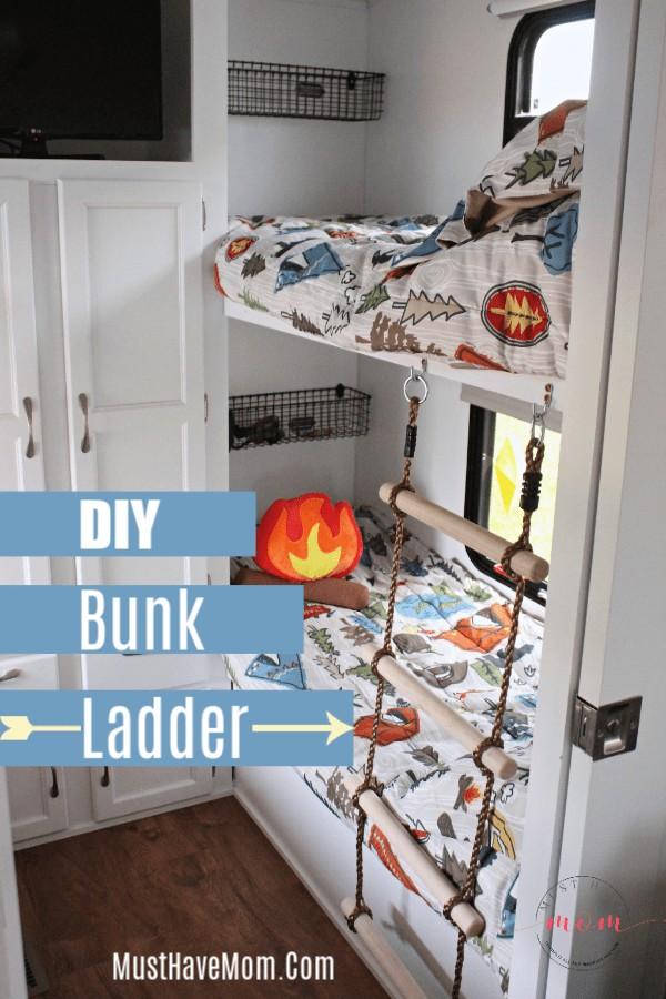 bunk ladder diy