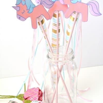 DIY unicorn craft