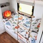 RV Bunk Ladder DIY + RV Bunkhouse Remodel!