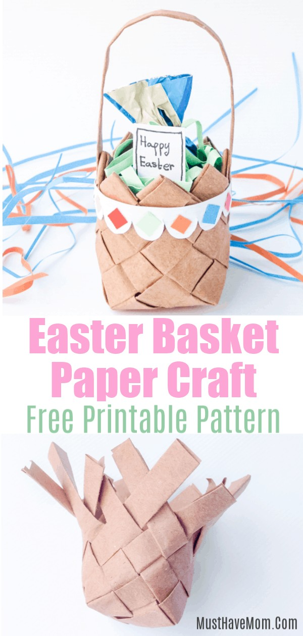 paper basket craft