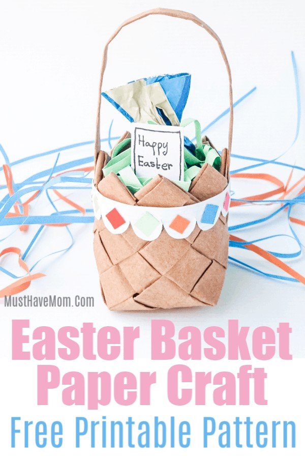 paper weaving basket