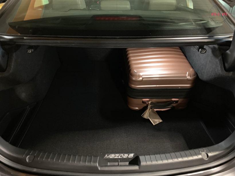 Mazda6 trunk
