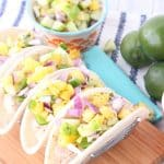 Pork Tacos with Fresh Pineapple Salsa