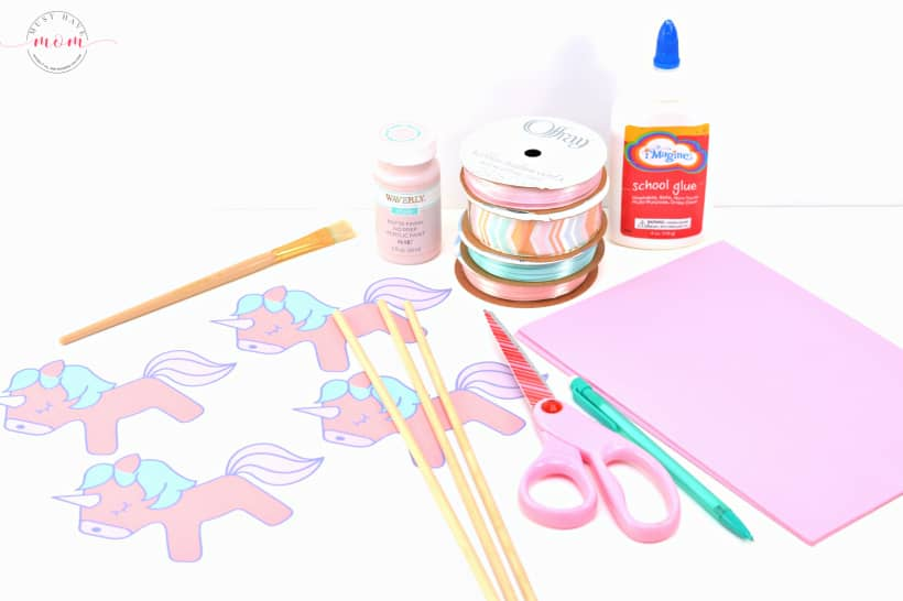 unicorn wand craft supplies