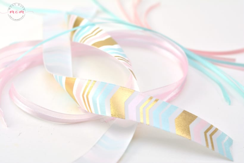 unicorn craft ribbon wand