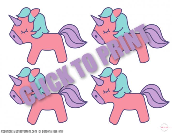 Printable Unicorn Pictures