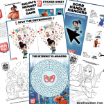 Ralph Breaks the Internet Free Printables, Food Ideas + Giveaway
