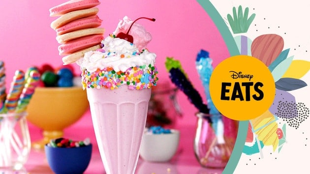 Disney pancake milkshake