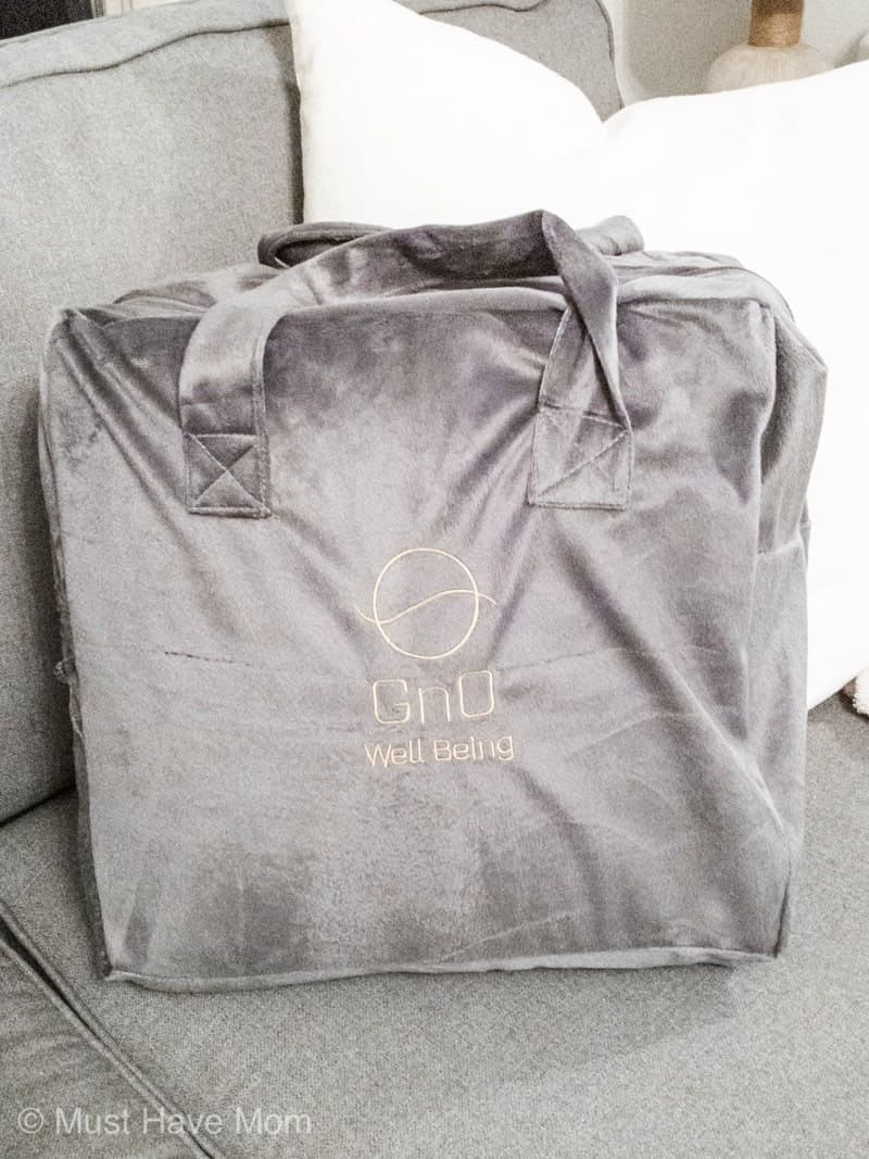 Gno weighted blanket carrying case