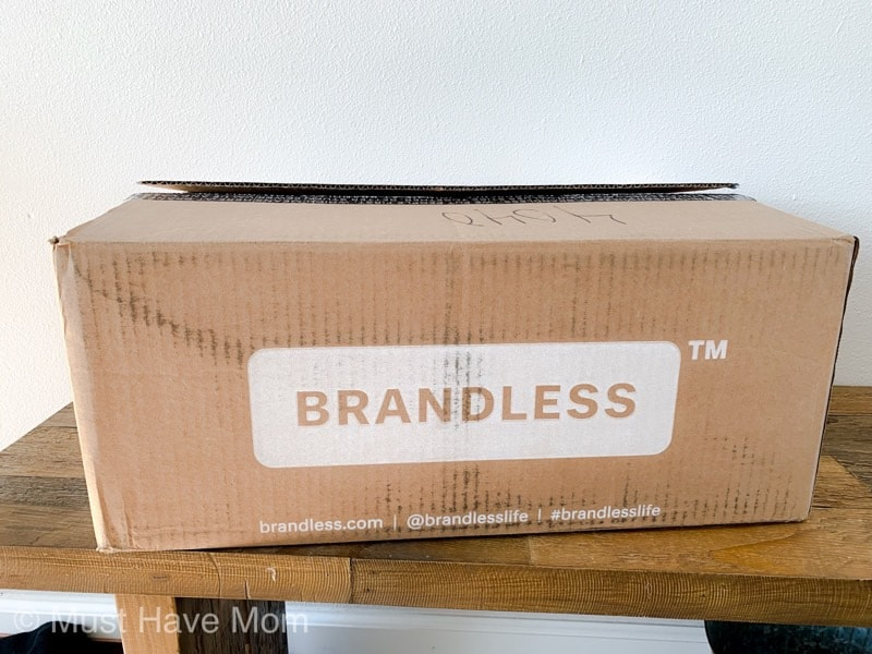 Brandless unboxing