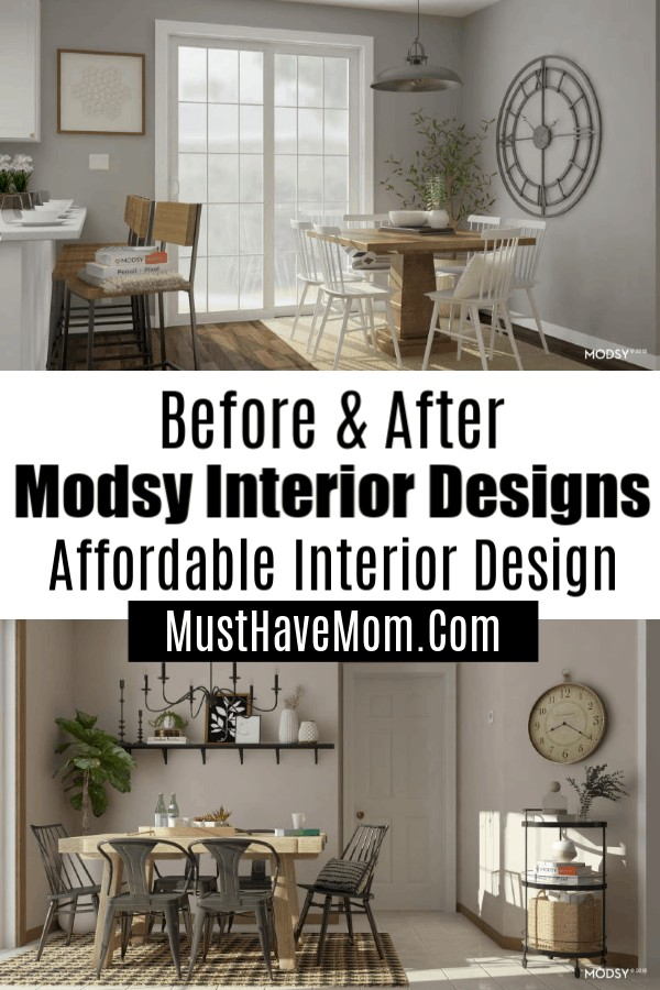 Modsy before and after designs