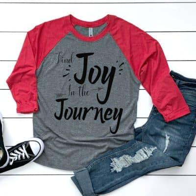 joy in the journey shirt