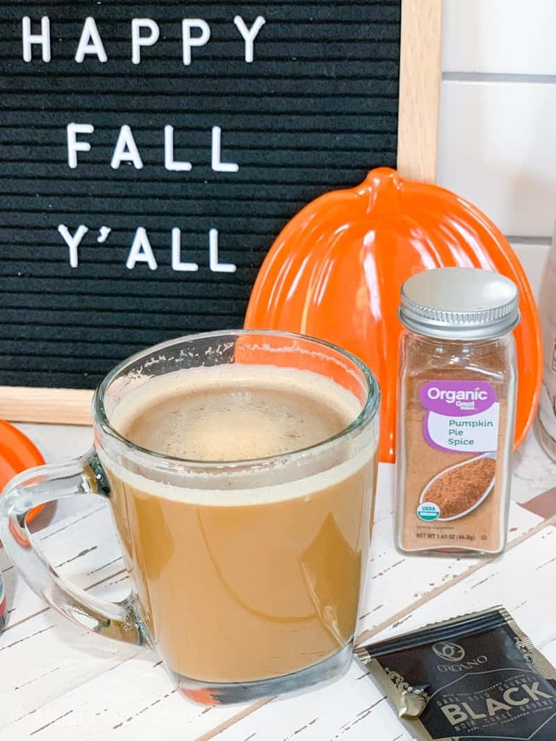 organo pumpkin spice latte