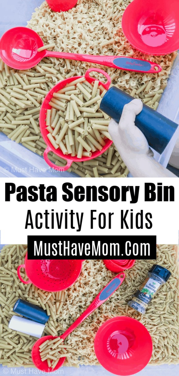 pasta activity for kids