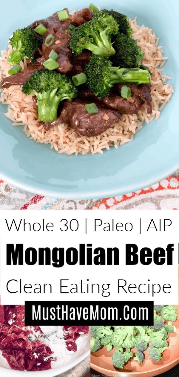 healthy Mongolian beef
