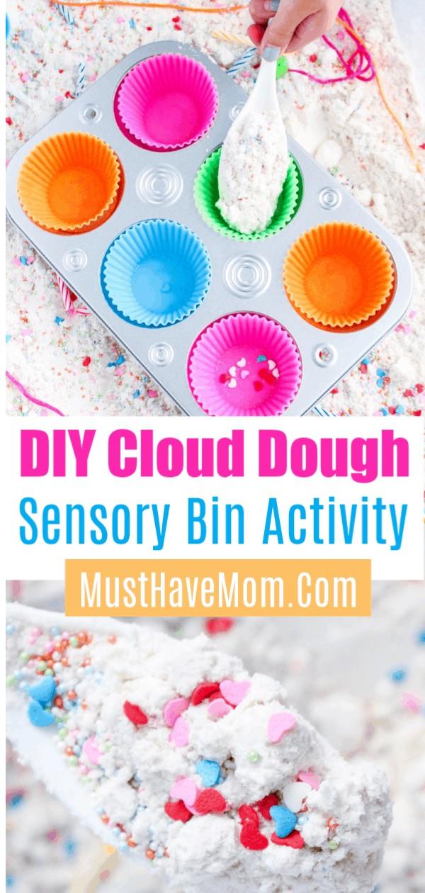 cloud dough activity