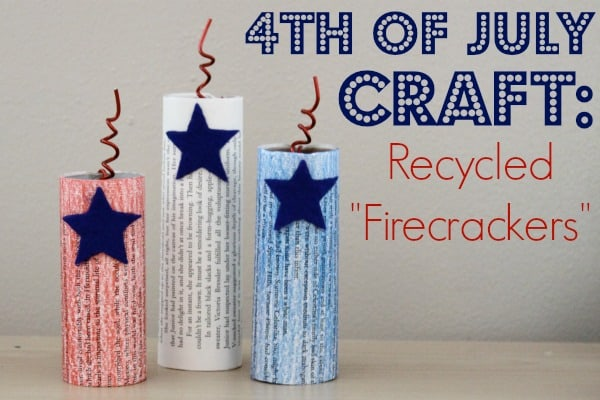 4th of july toilet paper roll craft