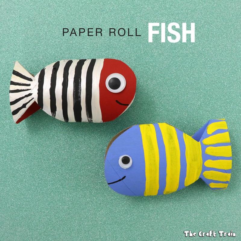 toilet paper fish craft