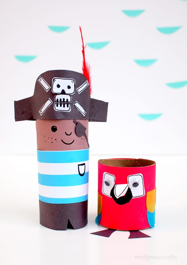 pirate and parrot craft