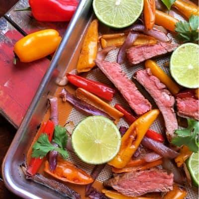 how to make steak fajitas