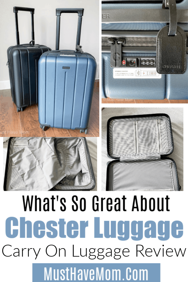 Chester carry on luggage review