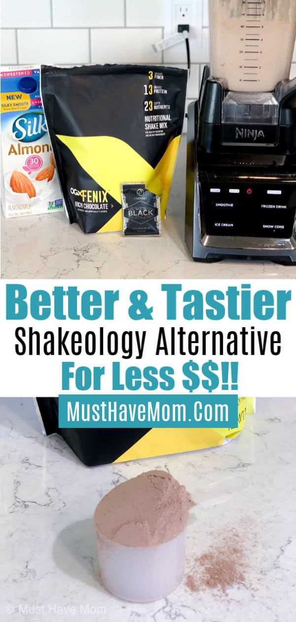 OGX Fenix shakes non GMO