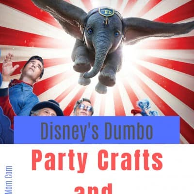 Disney's Dumbo Party Crafts & Food Ideas!
