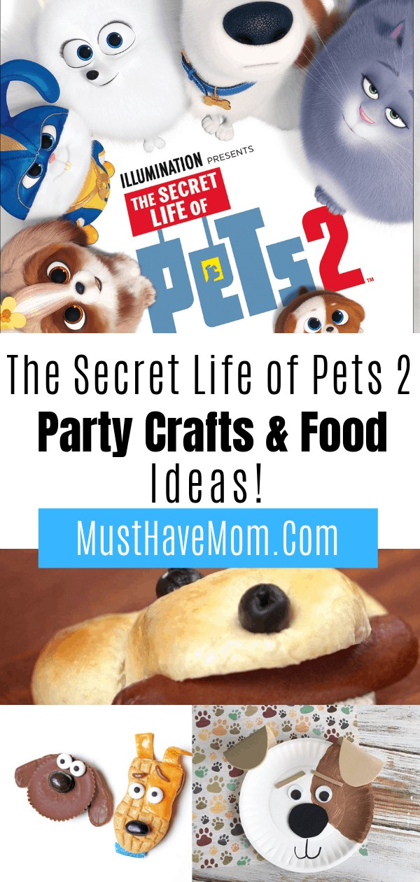 Secret Life of Pets is available on DVD and more on 8/27! It is the perfect time to plan a Secret Life of Pets 2 Party with these crafts and food ideas.