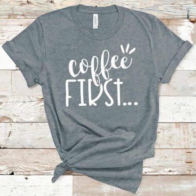 coffee tee gift idea