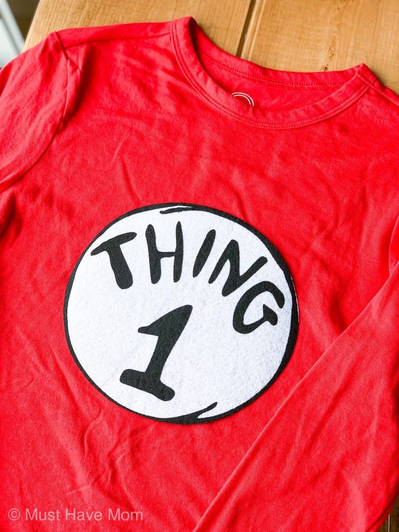 iron on thing 1 and thing 2 patches