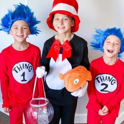 Dr Seuss Costumes DIY