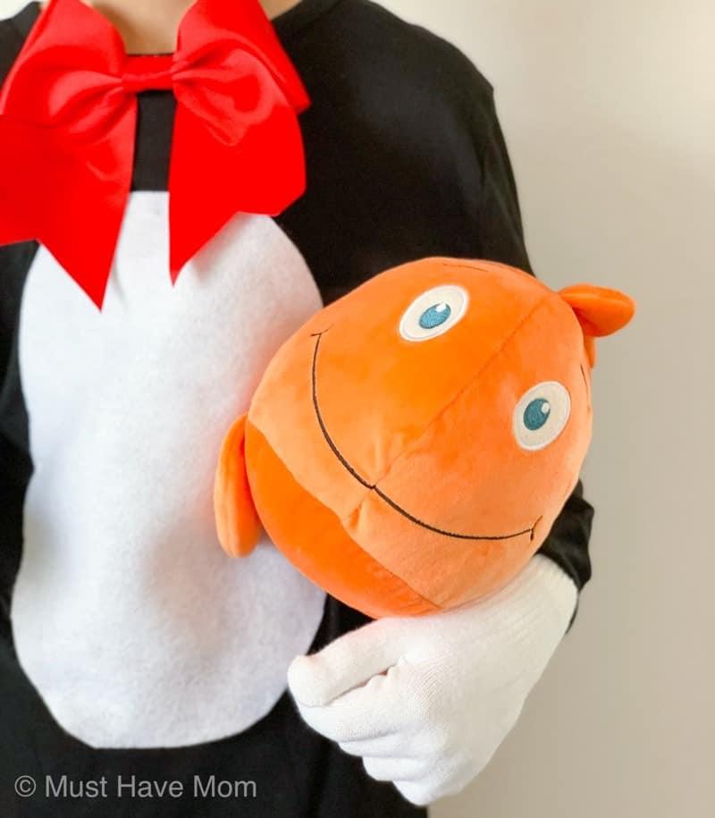 Dr Seuss stuffed goldfish