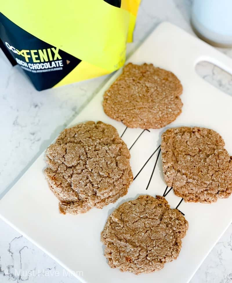 protein cookies using OGX Fenix Shake Mix