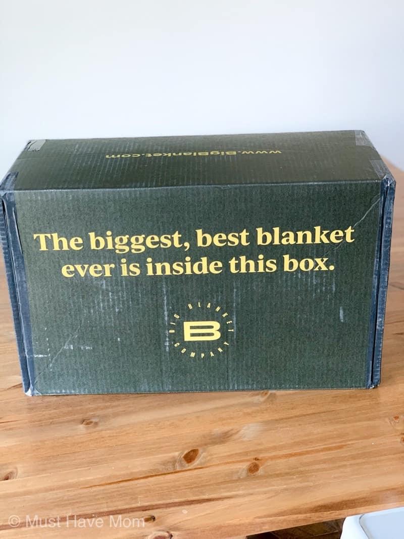 big blanket box