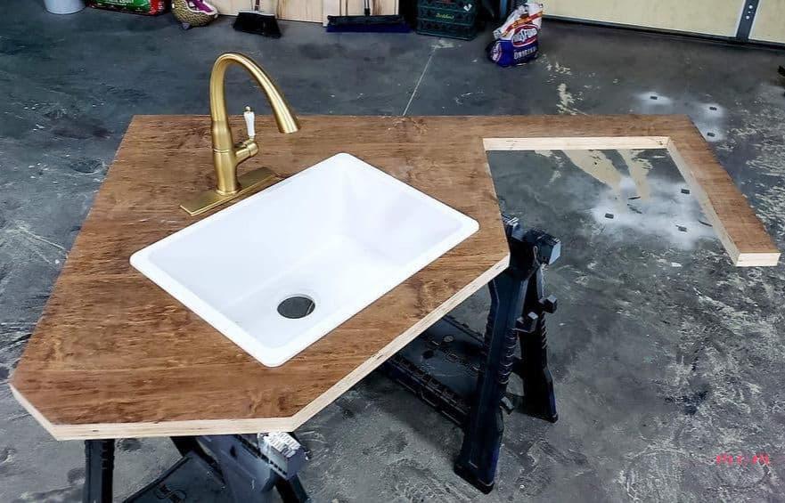 RV countertops DIY