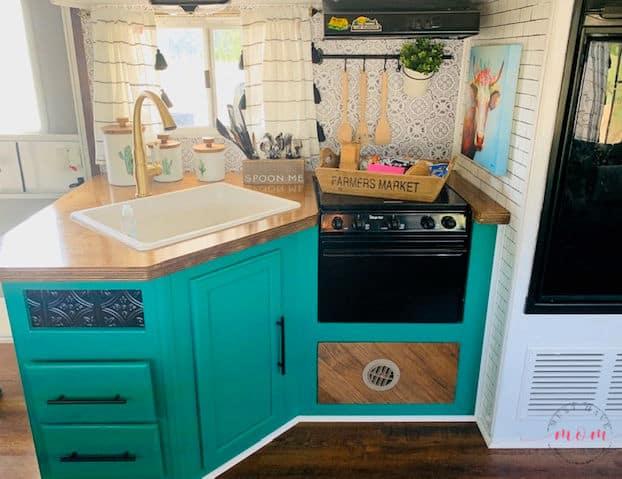 RV kitchen makeover ideas