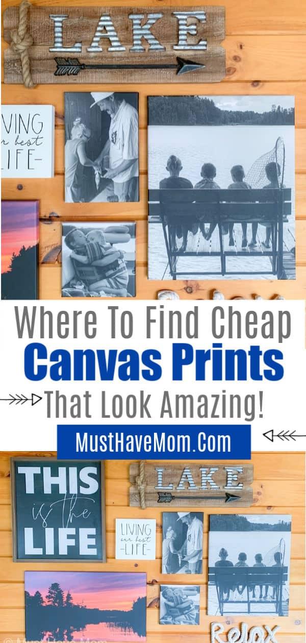 cheap canvas prints