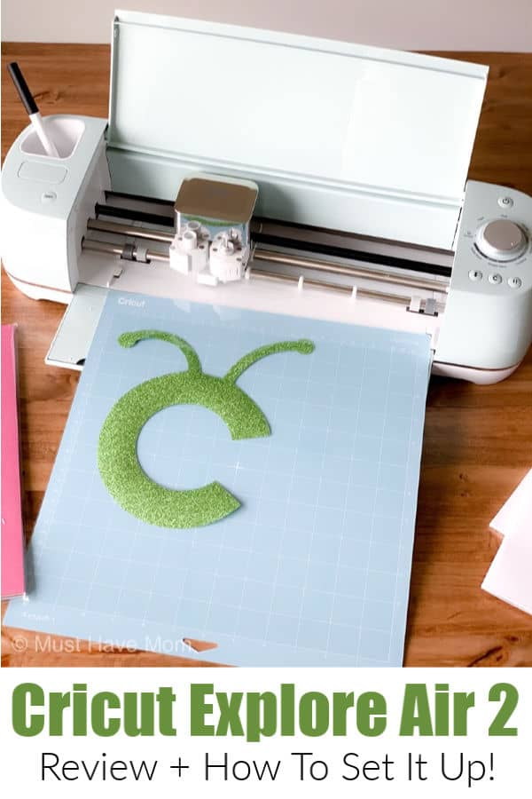 Cricut explore air 2 review and set up