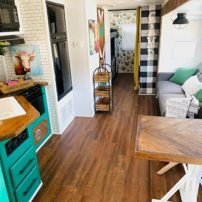 RV Remodel Ideas: Bohemian Farmhouse Style!