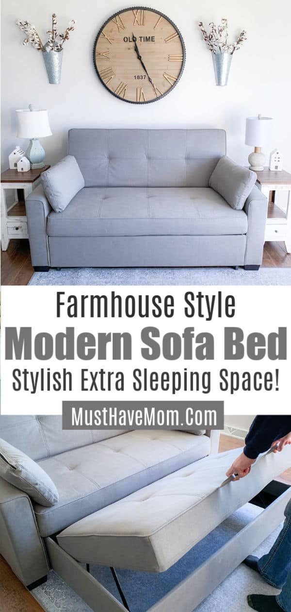 farmhouse style sofa bed