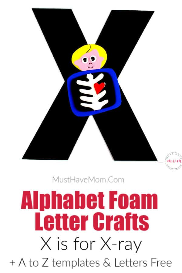 letter X craft