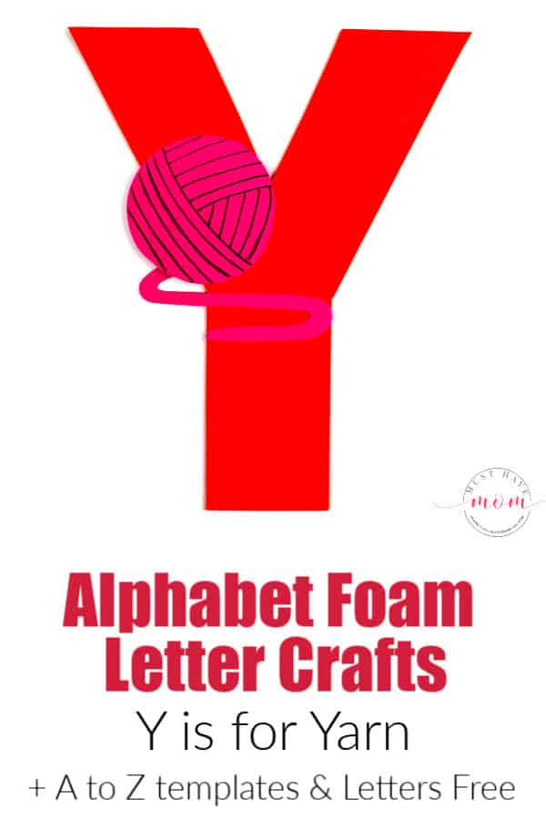 letter Y craft ideas