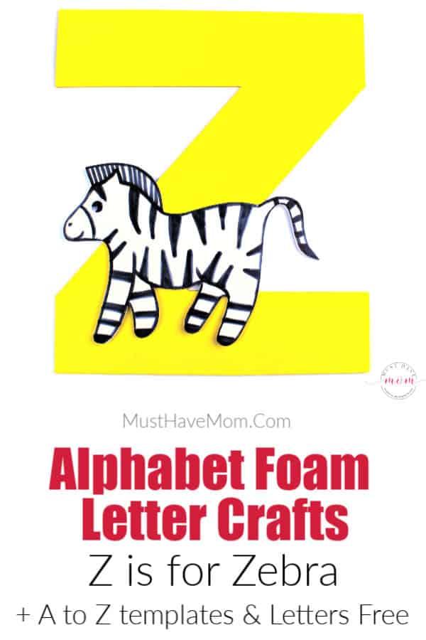 letter Z craft